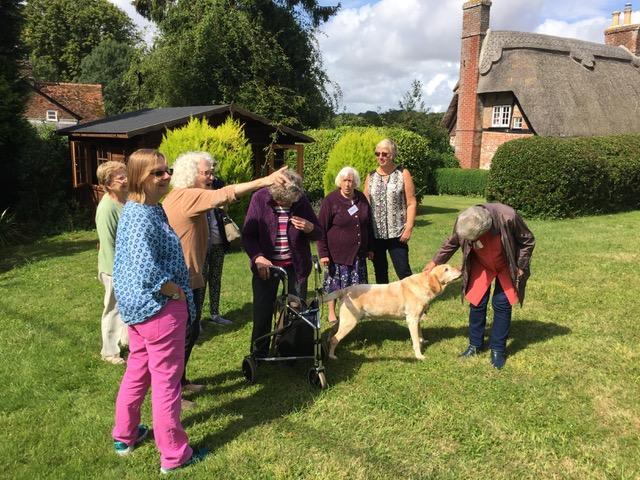 Wimborne St Giles garden, In Jolly Good Company activity day.jpeg
