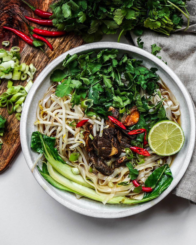 Vegan Pho Noodles — rachel ama