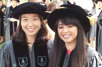 Eungi Yang (left) and                            Ofelia Tacchelly (right)                    Graduate Students
