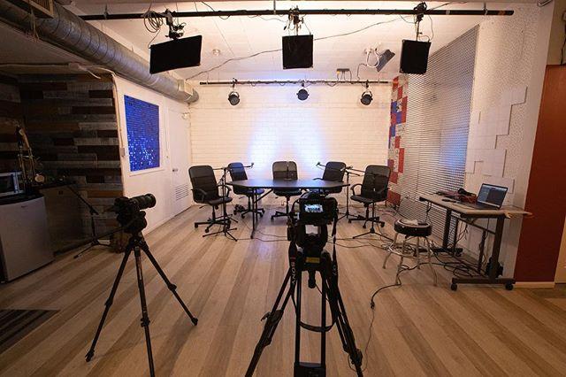 Podcast studio 😃
