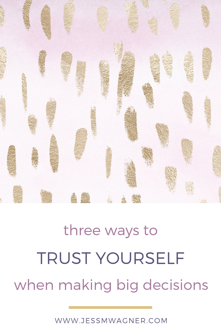how to start trusting yourself again jess wagner life coach