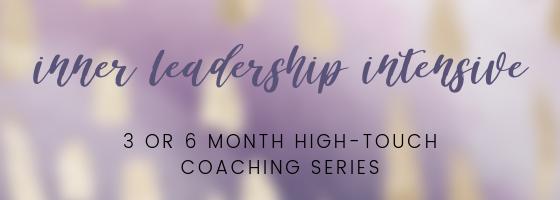 inner leadership intensive jess wagner coaching