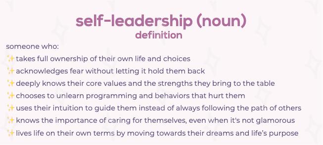 self-leadership definition jess wagner