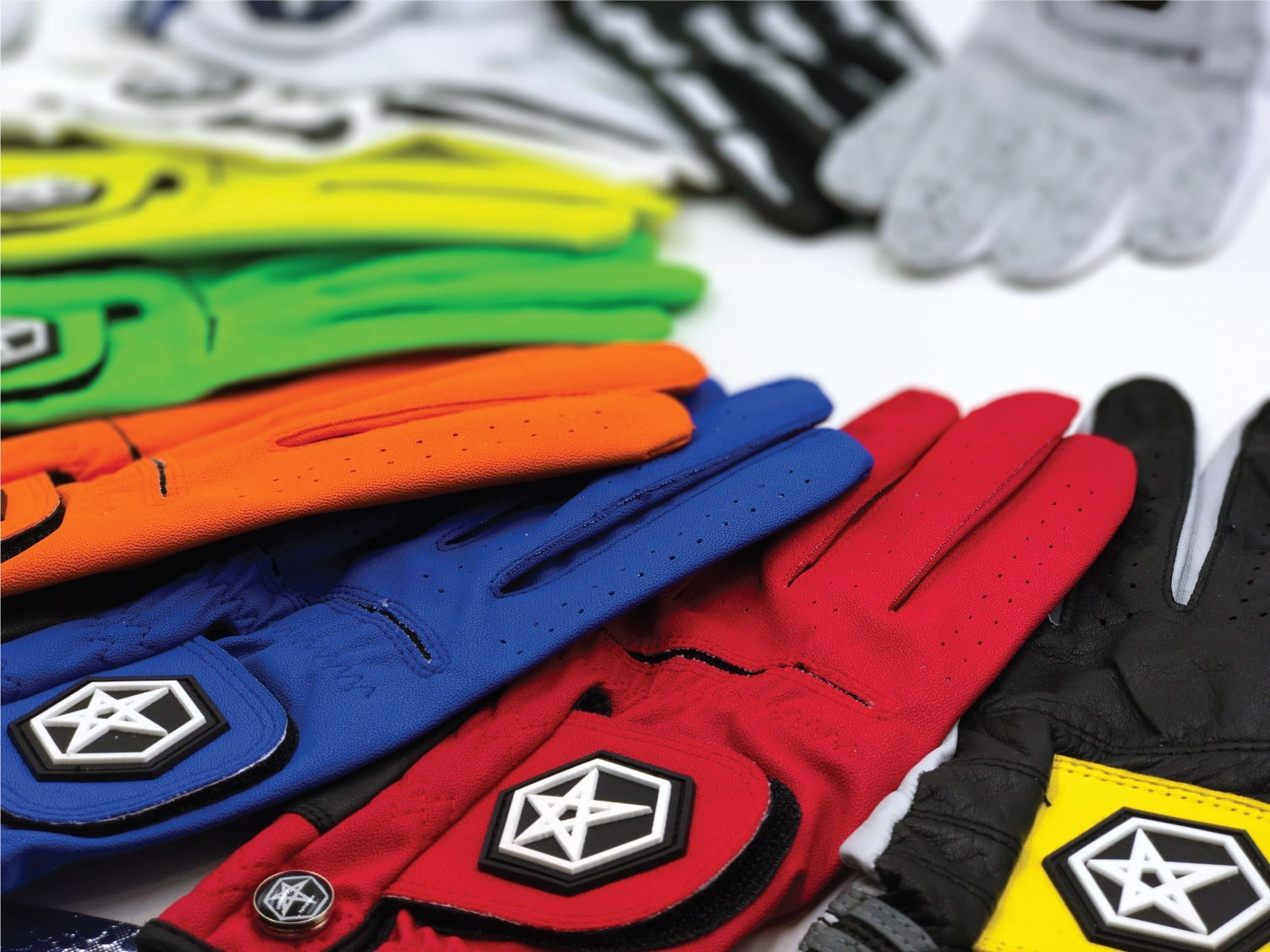 Asher Golf Colored Glove Collection