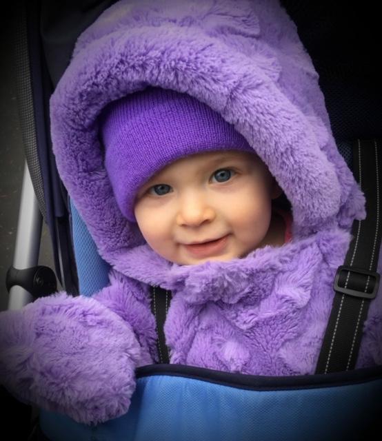 Baby Julie, 1 year