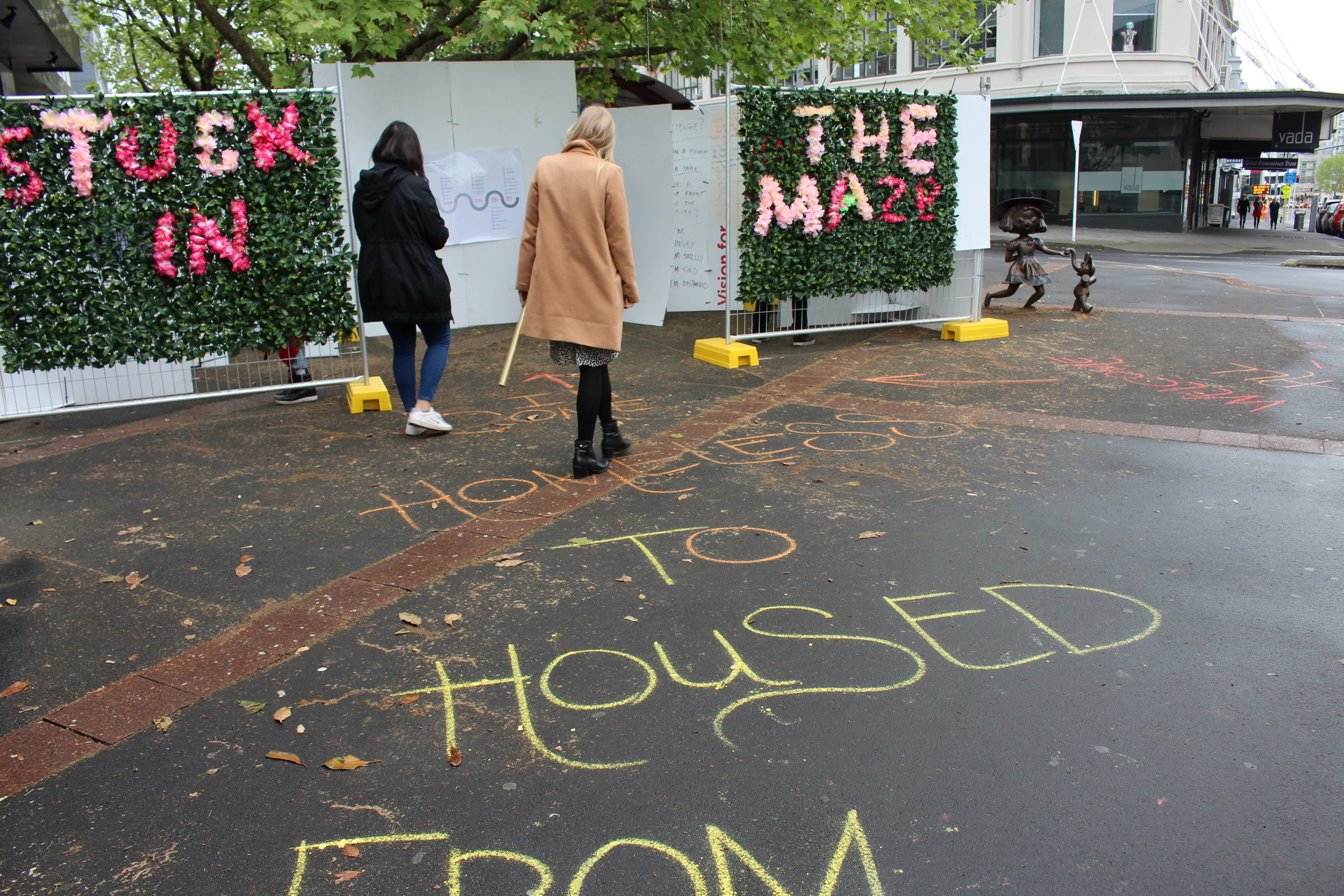 Stuck in the Maze // from housed to homeless at Beresford Square {October 2016] - pretty on the outside, gritty on the inside
