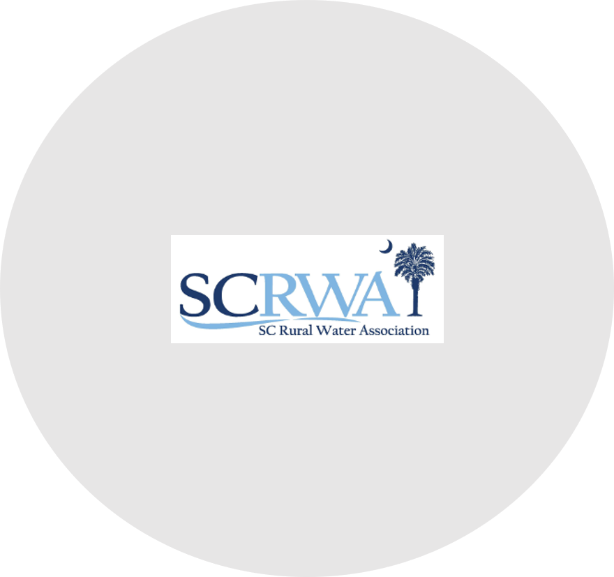 SC Rural Water Association (SCRWA) is a non-profit trade association that assists public and private water/wastewater systems state-wide to ensure that the residents of South Carolina have access to clean water.