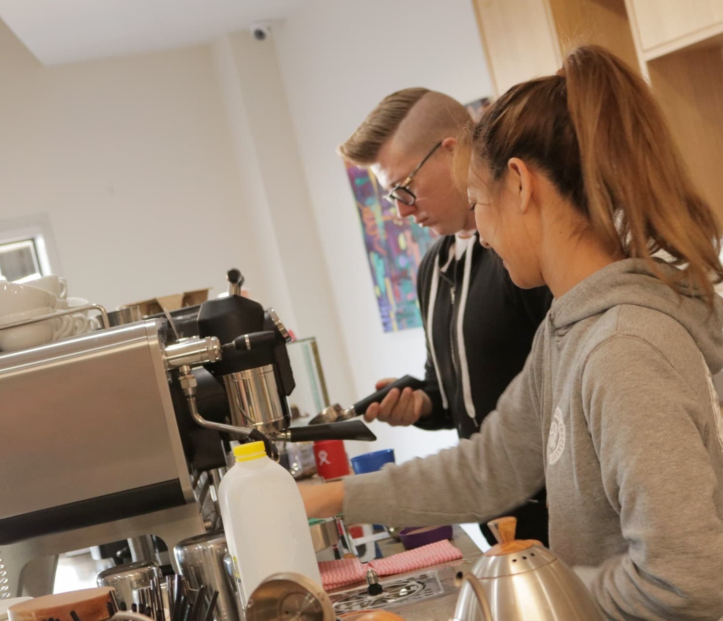"""The Master ClassDan has designed a Master Class not only for people wanting to make coffee professionally but for people wanting to start their own cafe.""""This industry is difficult and I often wonder how we have made it so far. I have developed rules, tips and strategies to ensure that you will succeed in such a dynamic industry."""" -"""