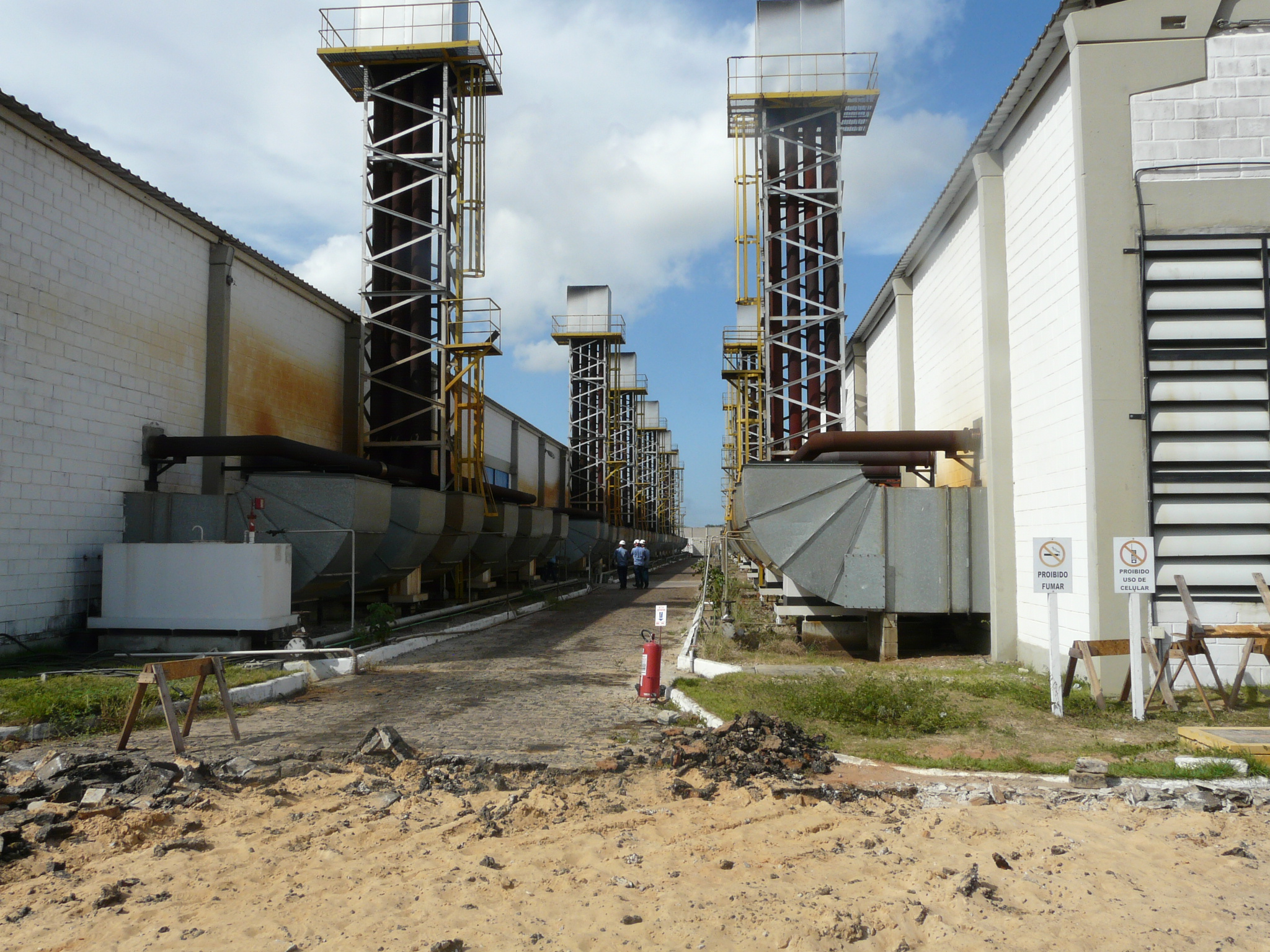 Power Plant Machinery Survey