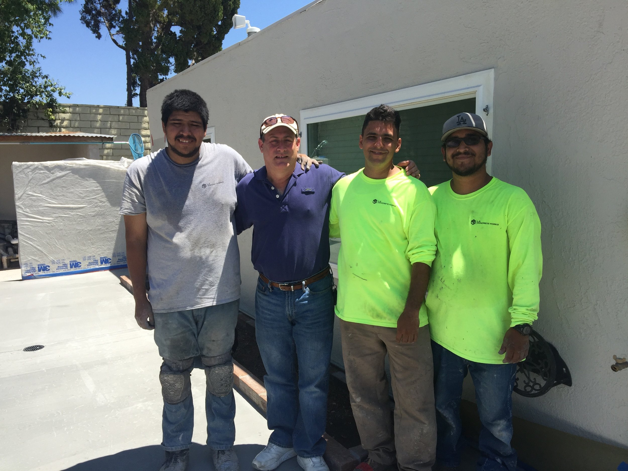 Decorative Concrete Crew