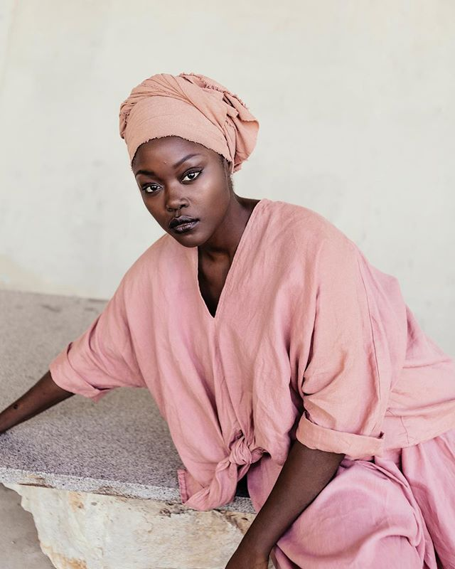 A look back to a special project produced with @mirandabennettstudio! The beautiful @mukhtarayusuf, photographed by @dagnushka! 💕💕💕 #shdwstudios