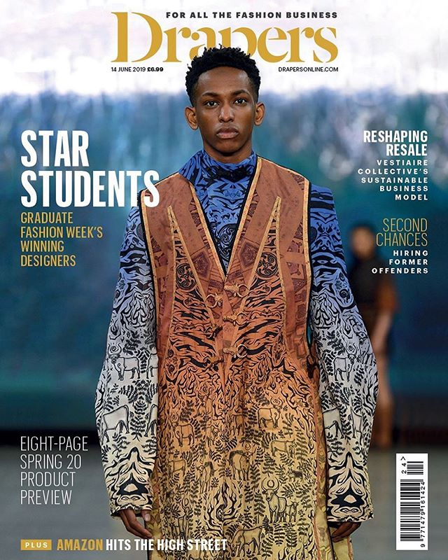 "CoverBoy😇 FIRST ONE🎉🎊🎉 This one's a winner @brianmcly 😌🔥 ⠀ Blessings upon blessings🙏🏾 More COVERS to come God willing🗣 Bounce Back SZN⏳ ⠀ Quote of the day ""Everything is a learning process, any time you fall over it's teaching you to stand up next time..."" ⠀ ⠀ #quotestoinspire #quoteoftheday #quotesilove #amazingquotes #runwayfashion #wearegraduatefashion #readmybook #nevsfam #nevs #uganda🇺🇬 #londonboy #menwithstreetstyle #blackmodels #blackmalemodels #editorial #editorialfashion #drapers #GFW19 #coverboy #nevsmen"