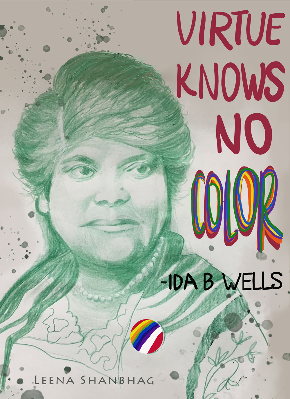Portrait of Ida B. Wells