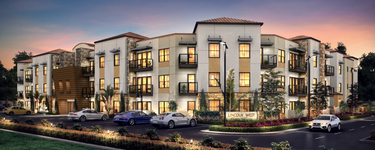 Lincoln West Apartments - — Cypress, CA —