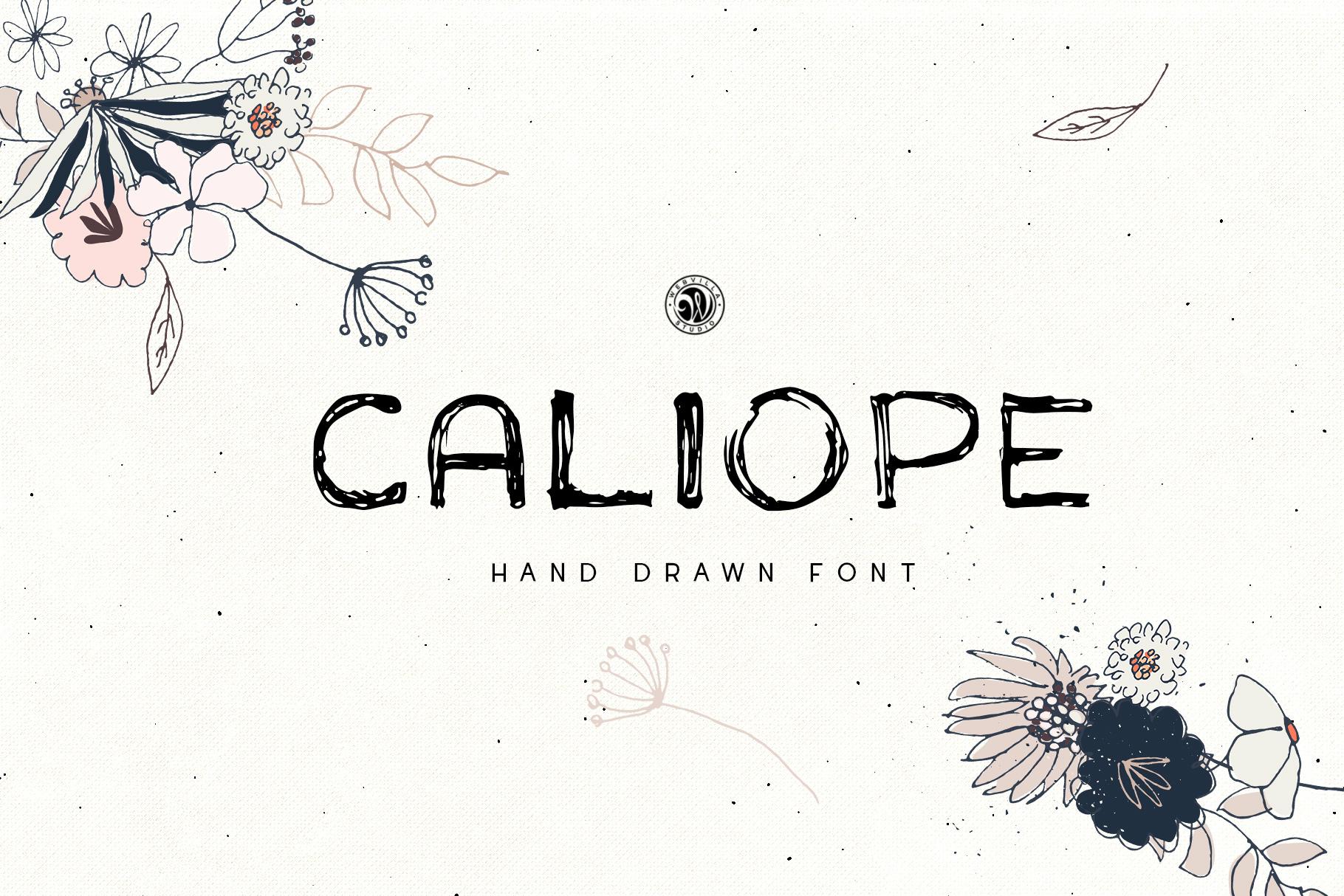 Caliope Font - Price $8