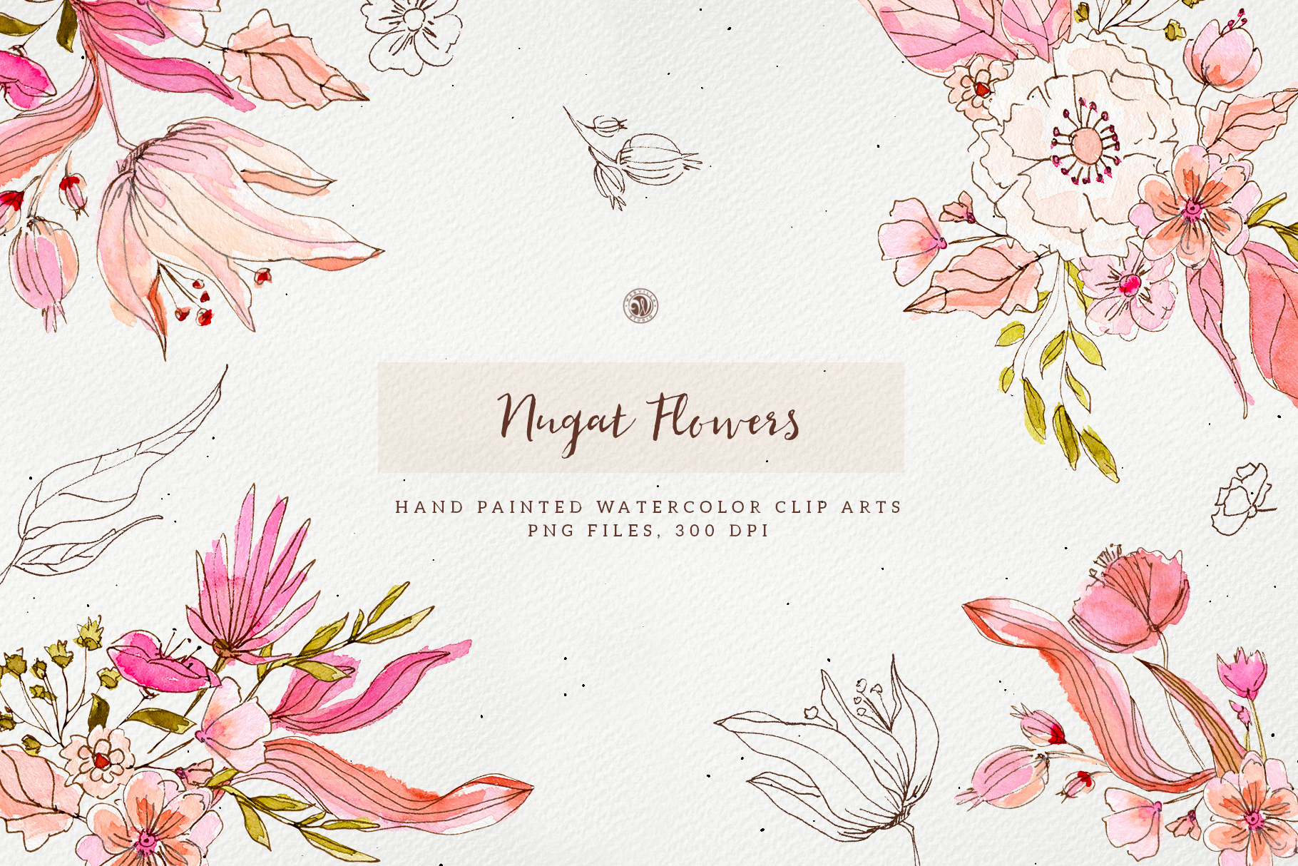 Nugat Flowers - Price $9