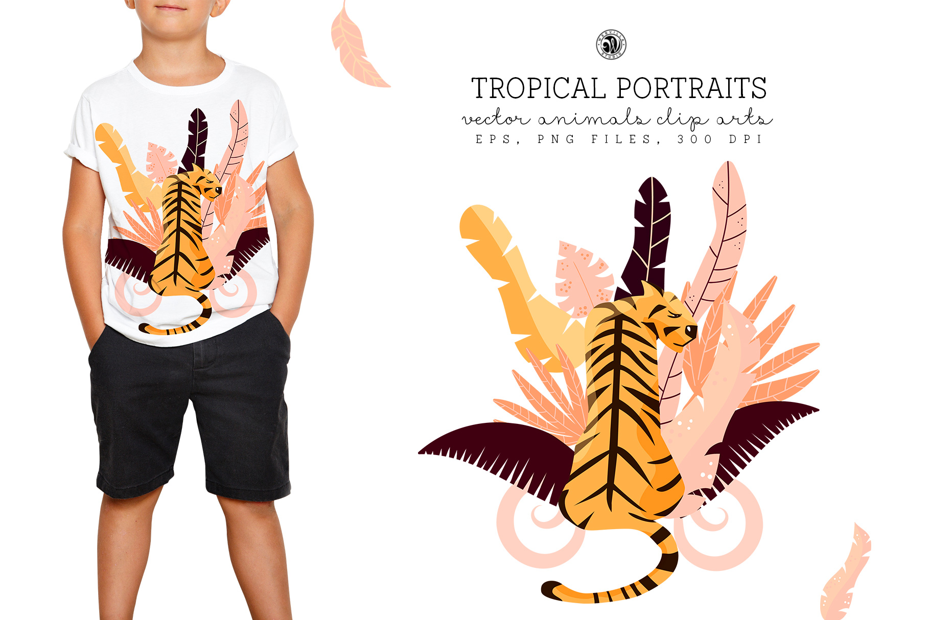 Tropical Portraits - Price $14