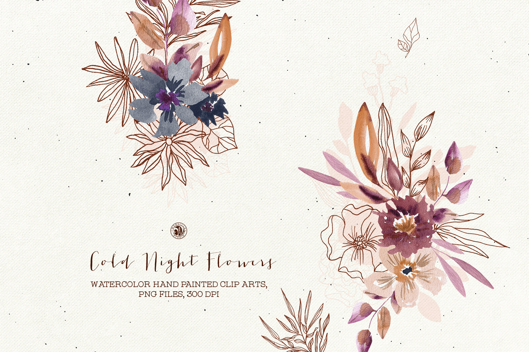 Cold Night Flowers - Price $15