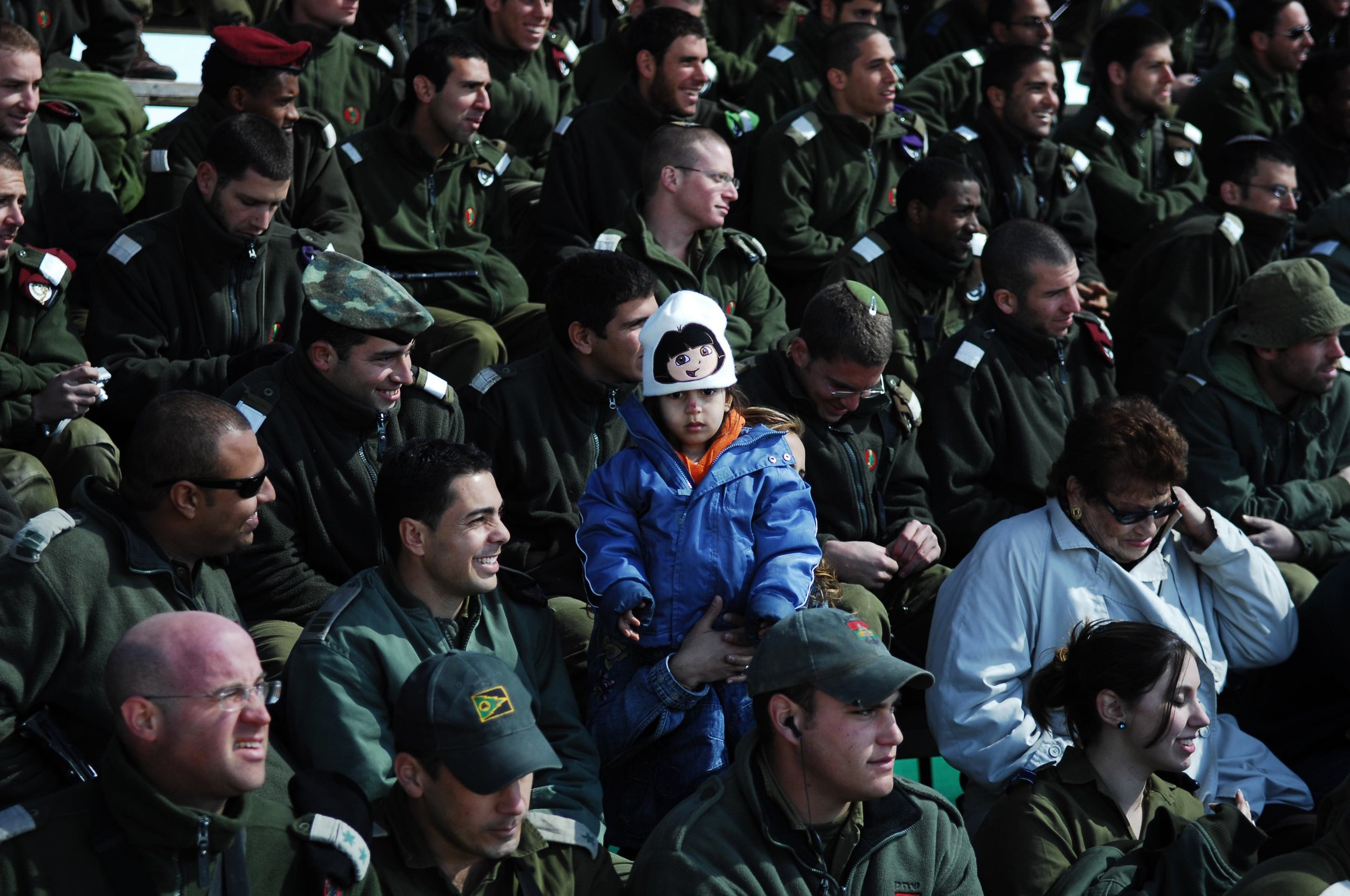 Military ceremony / Israel 2005