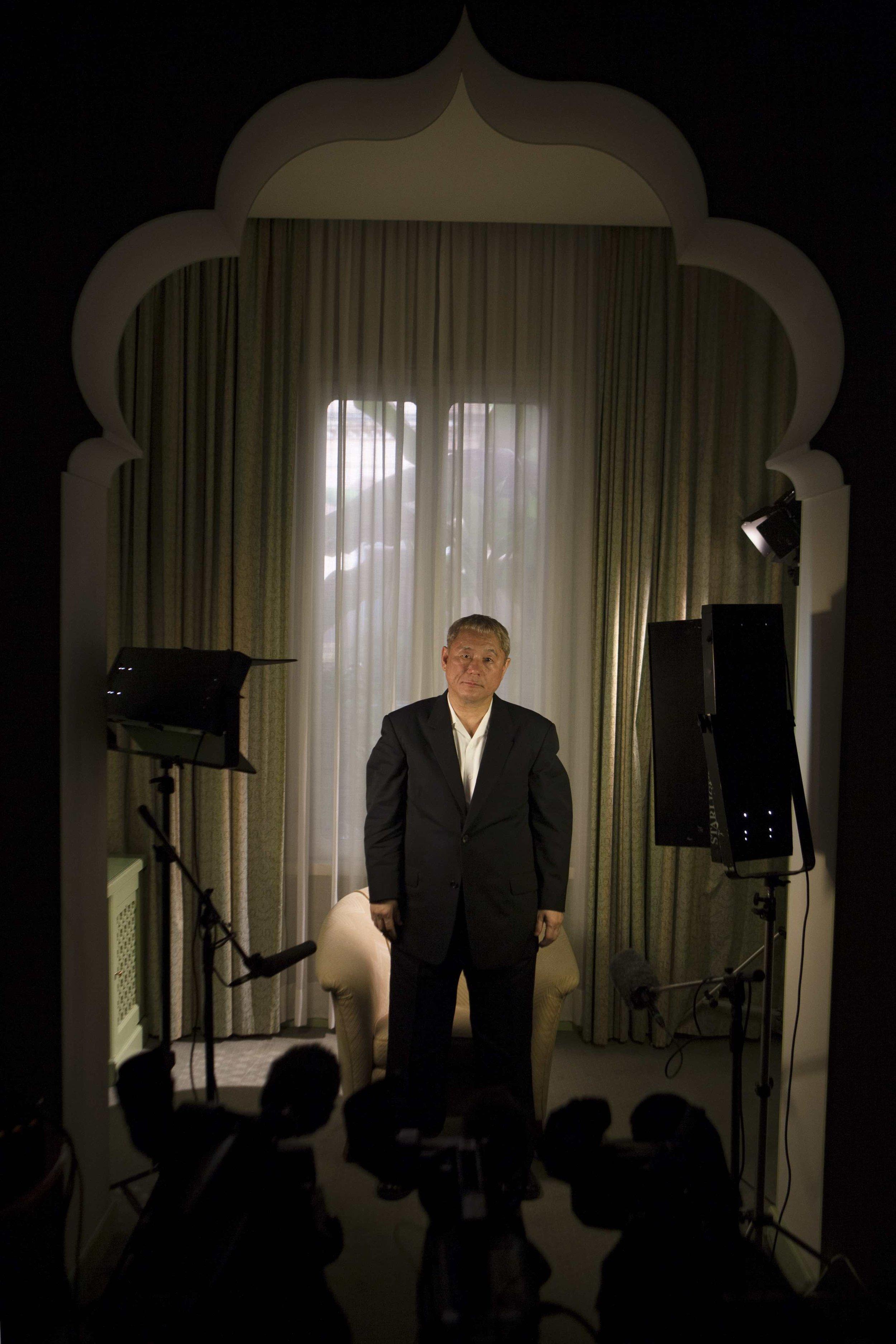 Takeshi Kitano, film director / Venice Film Festival 2008