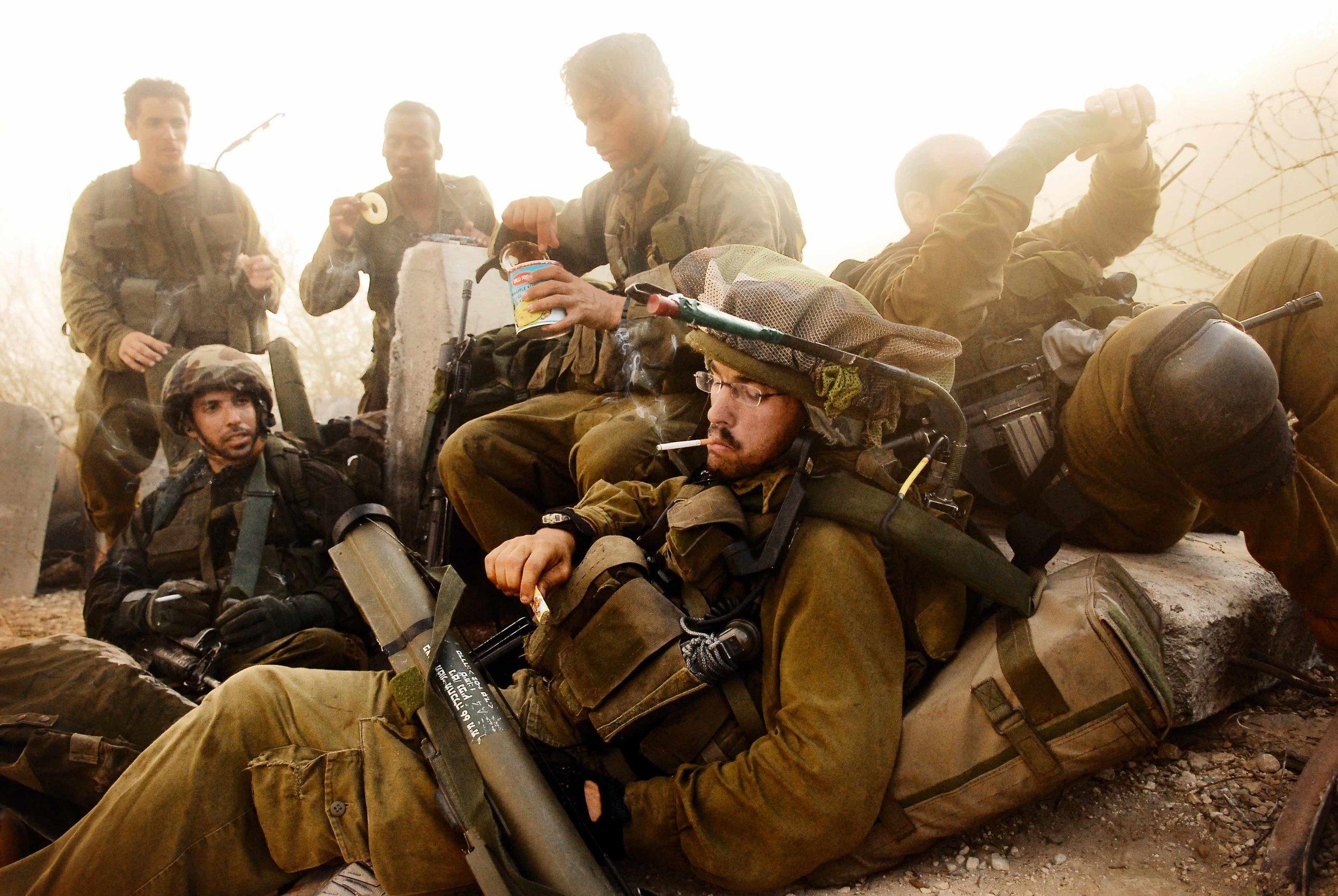 Israeli Soldiers / Golan Heights 2006