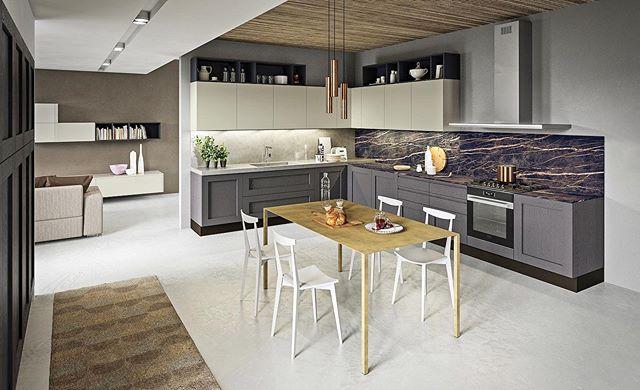 LICIA | by @arancucine   Une cuisine qui incarne l'élégance et le glamour, et qui offre de multiples combinaisons de finitions et de couleurs. Combiné à une table percutante, certe cuisine peut transformer vos routines quotidiennes en moments vraiment exquis.  Ce modèle est exposé dans notre showroom, venez le découvrir ! ________________  LICIA | by Aran Cucine  A kitchen that embodies elegance and glamour, with multiple combinations of finishes and colours. Combined with an impactful table, it can transform your daily routines into truly exquisit moments.  This model is on display in our showroom, come discover it!