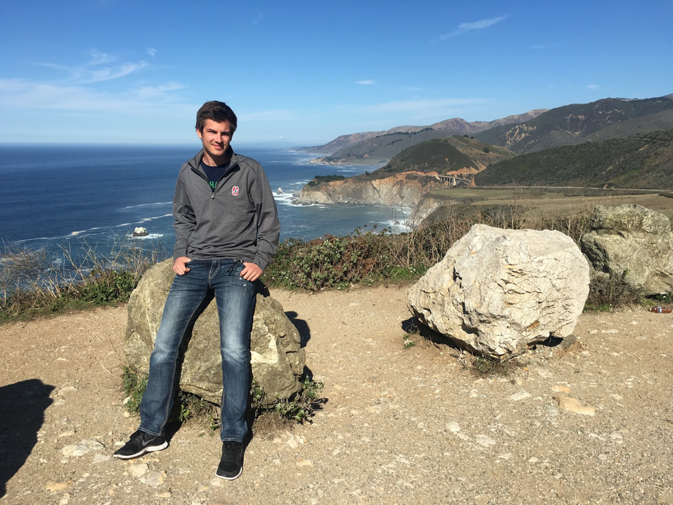 Mihai at Big Sur