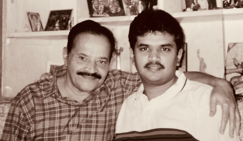 Srini and his dad