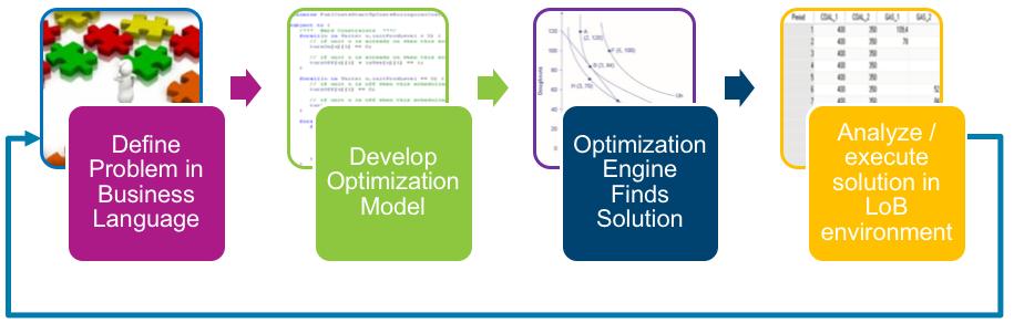 Figure 2: Optimization Application Development Cycle.