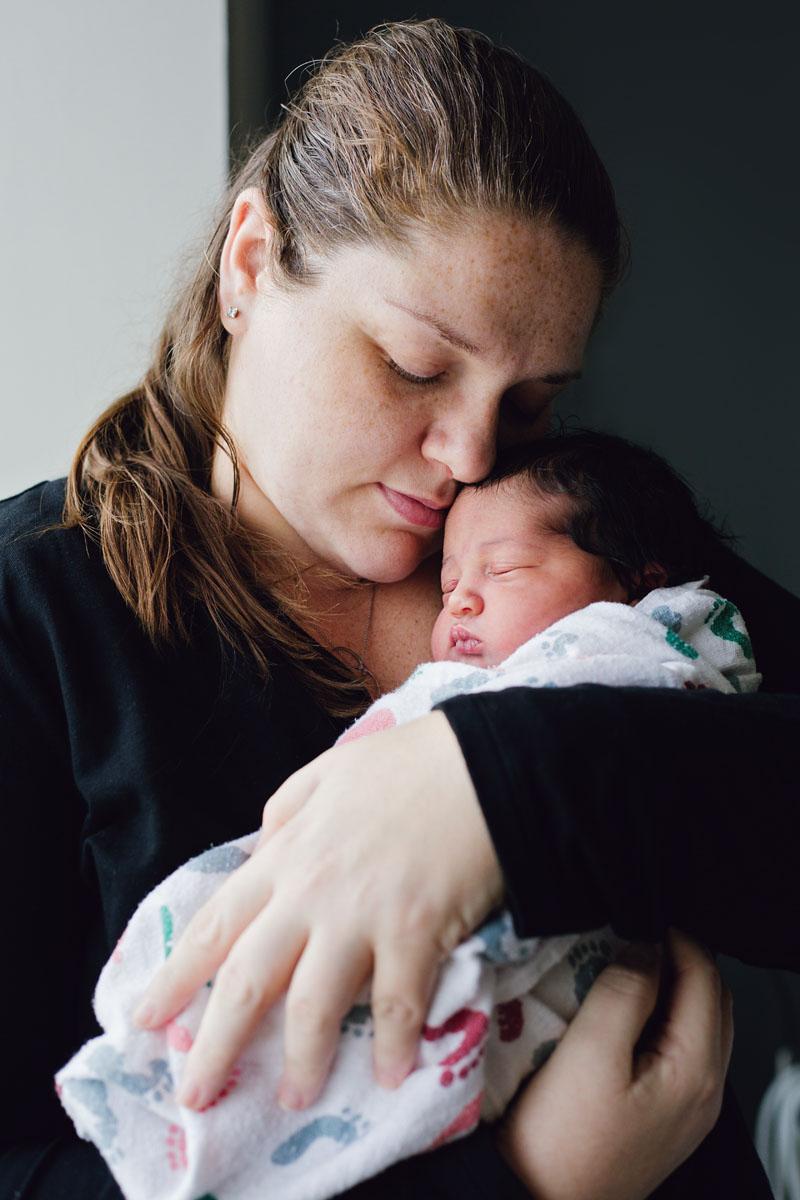 Fresh 48 Newborn Photography at Valley Hospital in Ridgewood, New Jersey