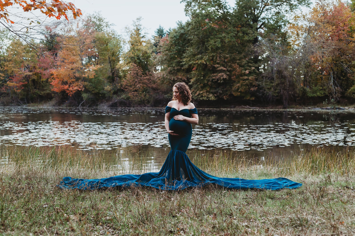 Maternity Photography of pregnant woman in Clifton, New Jersey