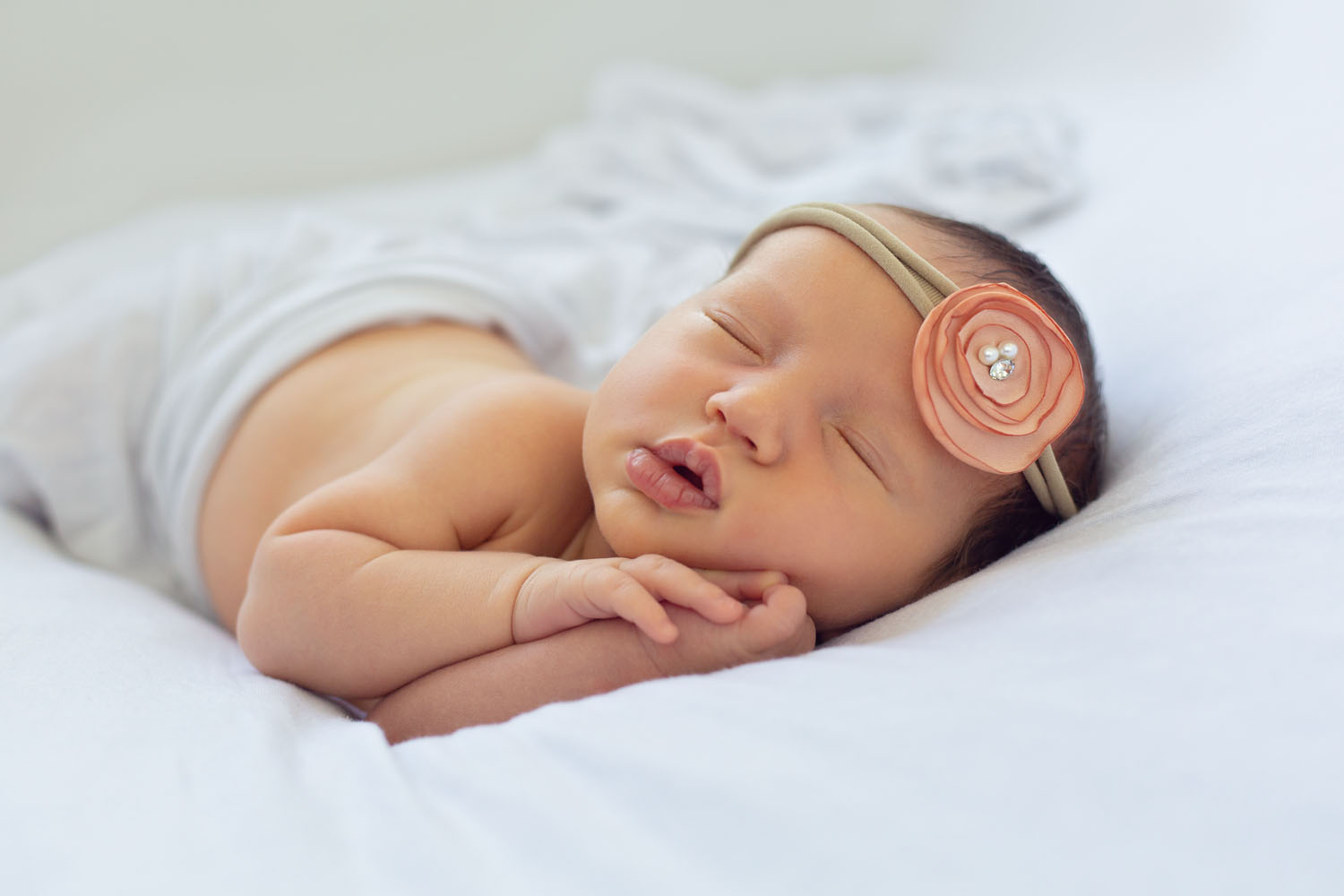 Newborn Photography of a baby girl from Montclair, New Jersey