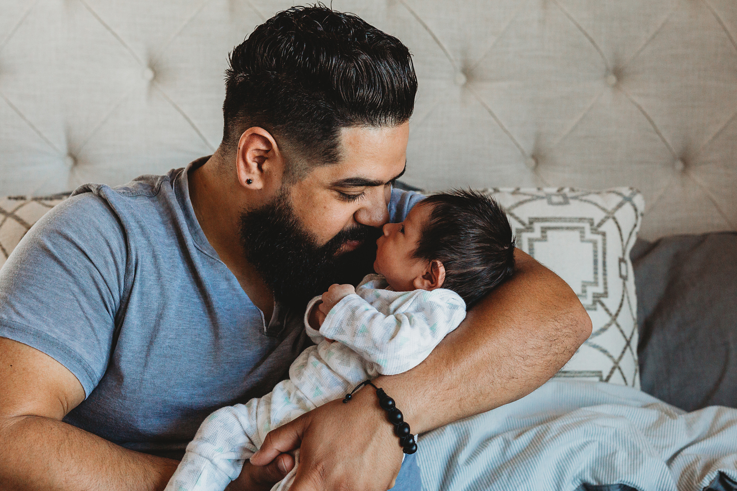 home newborn photography in montclair new jersey
