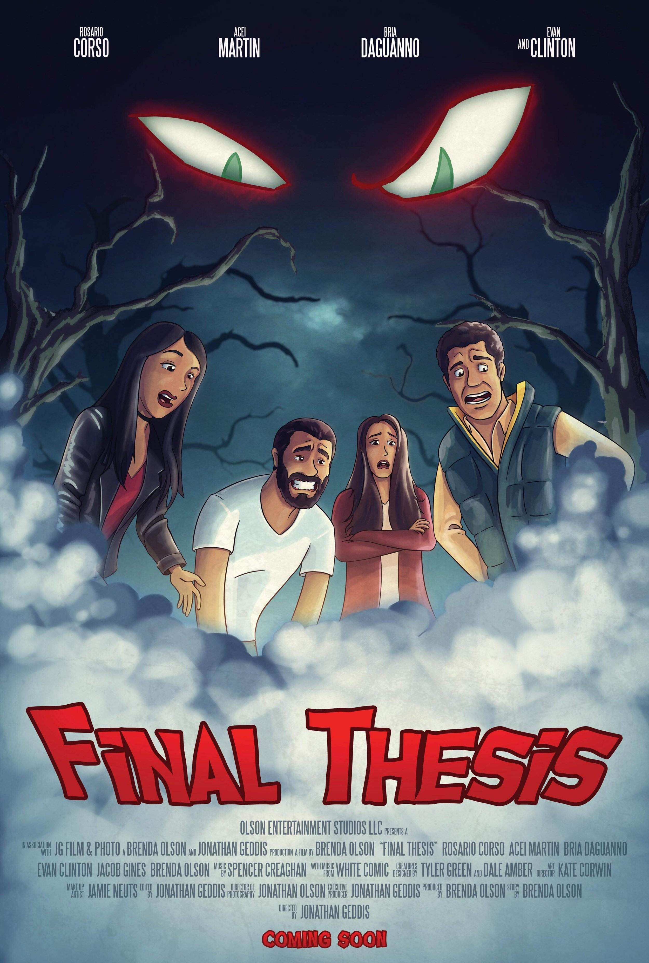 Final Thesis - Short/Comedy/HorrorCreature Design