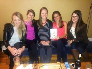 Juli Breines and friends discuss   Pretty in Ink   at their Boston-based book group.