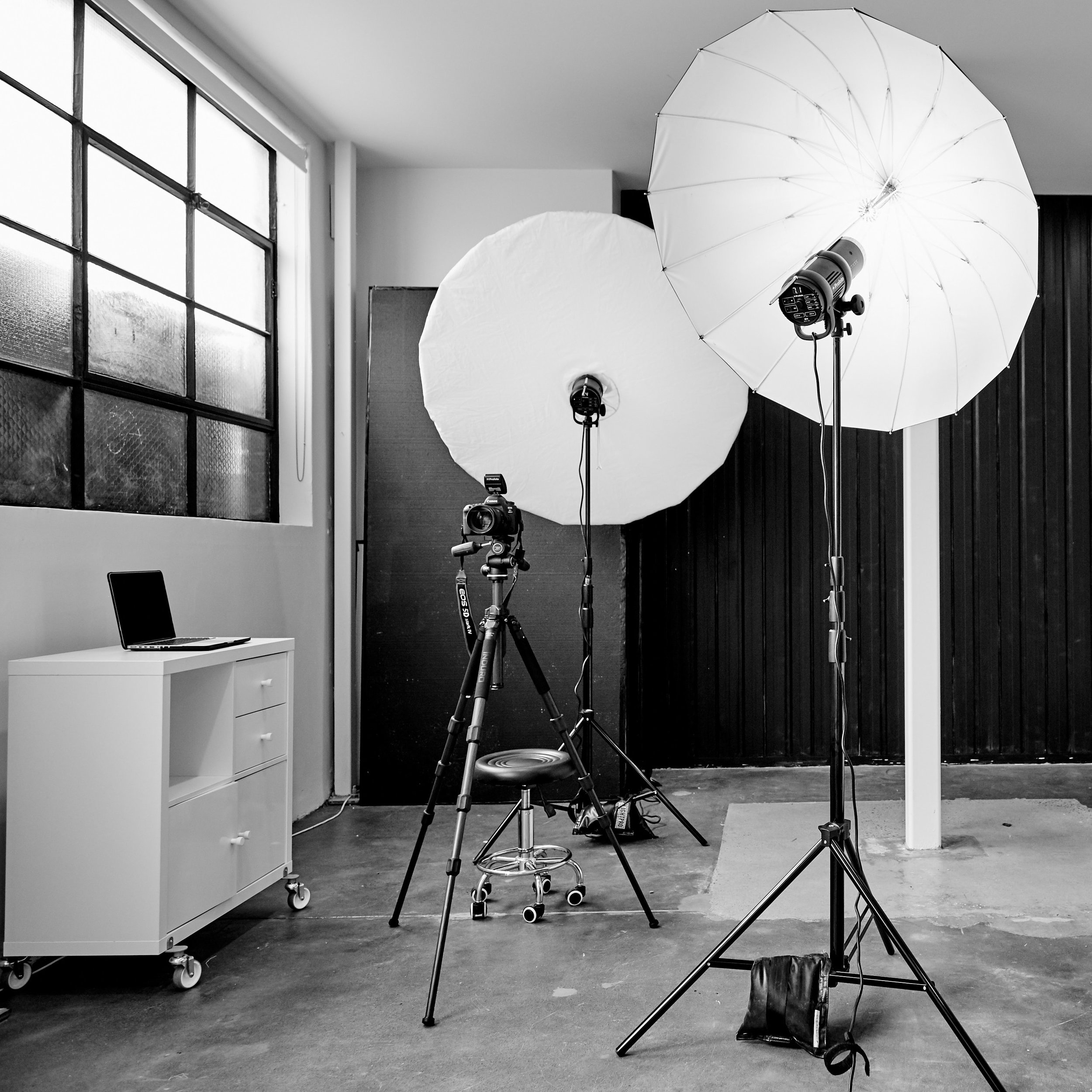 photography studio northcote lights