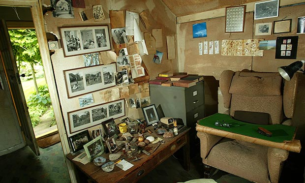 Roald Dahl Day shed at museum in Great Missenden