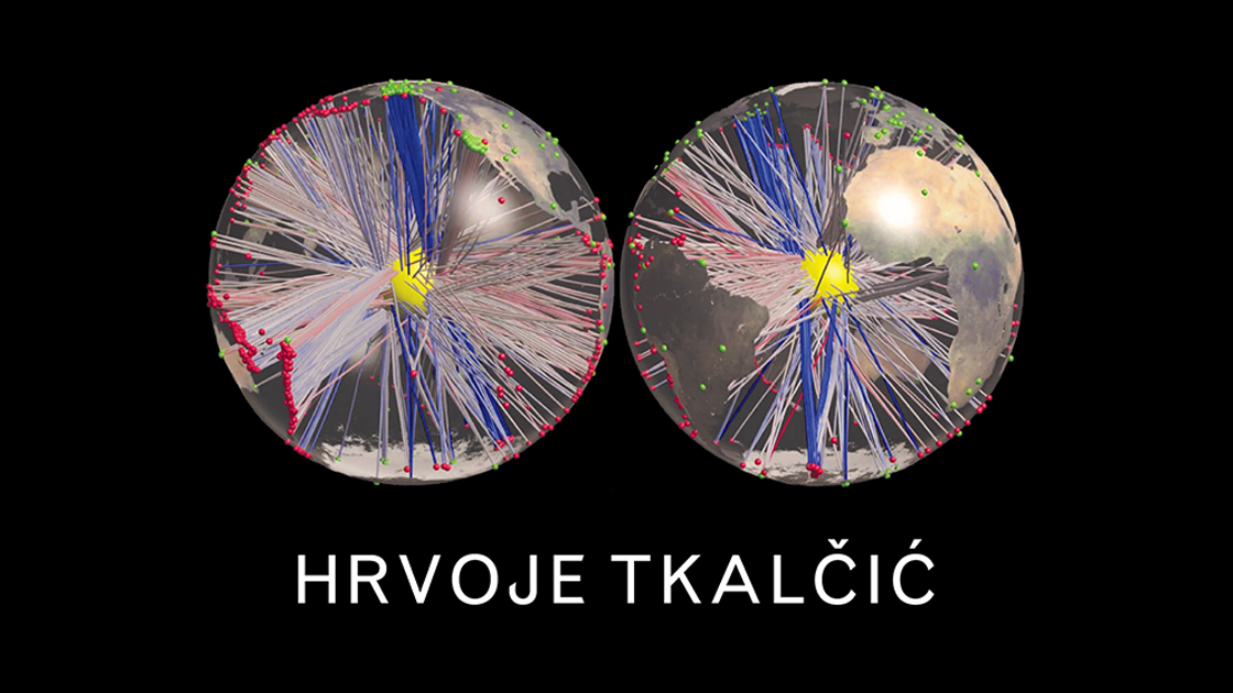 Excerpt from the cover of Associate Prof. Hrvoje Tkalčić's The Earth's Inner Core book, which culminates his recent years of work. Image: Associate Prof. Hrvoje Tkalčić.