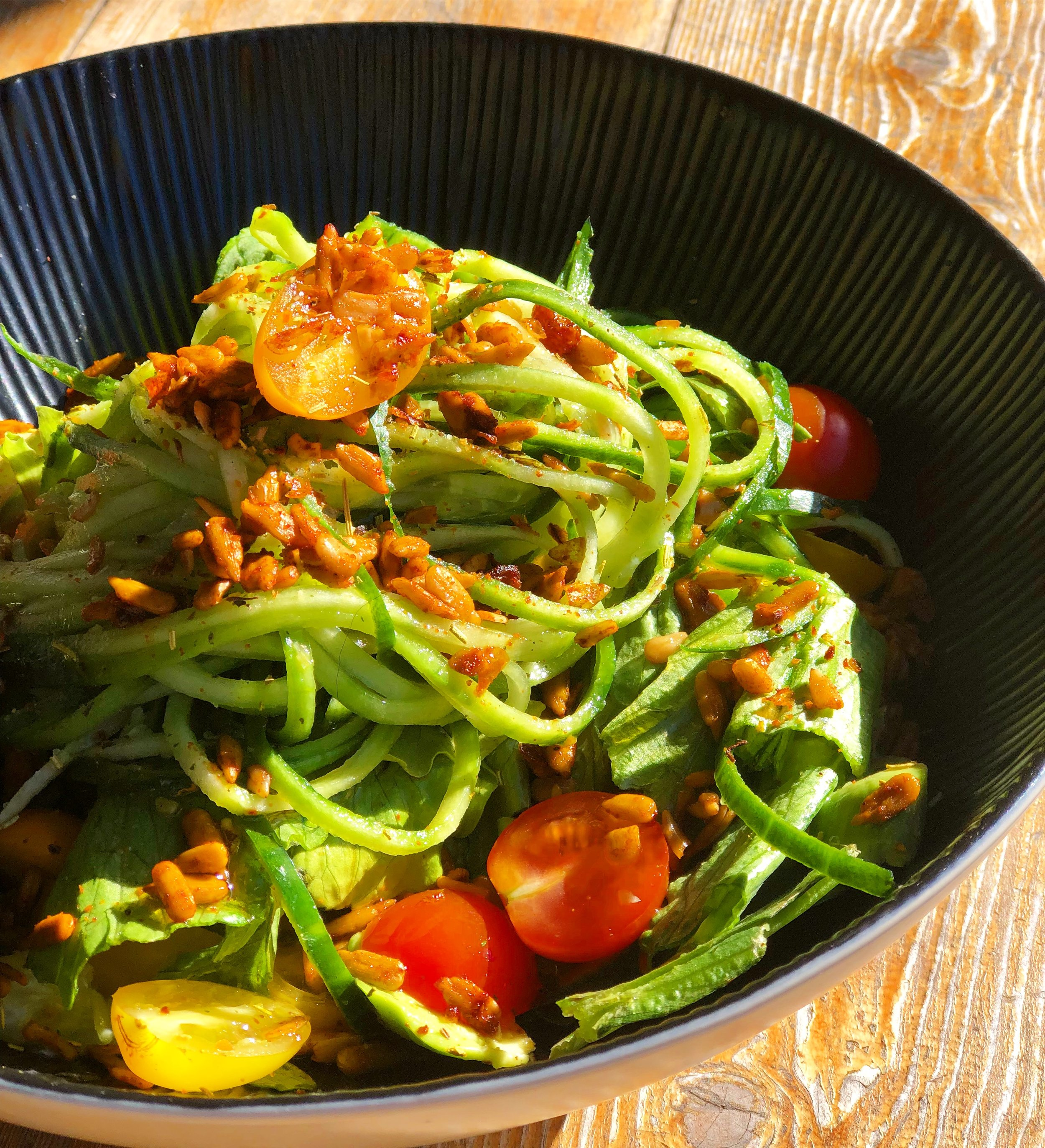 Cucumber Noodles are surprisingly filling and completely delicious