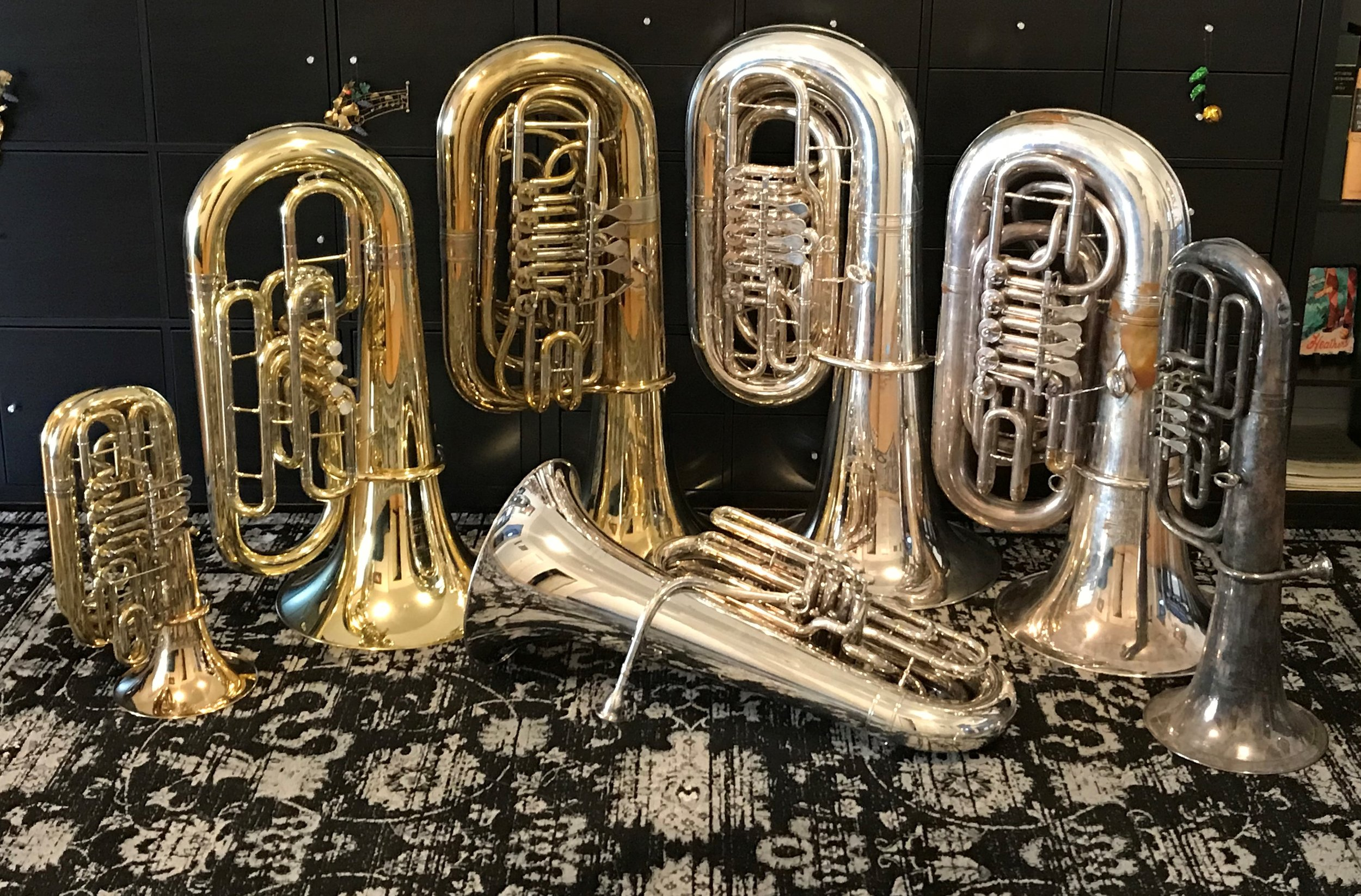 Current horn collection (mostly)