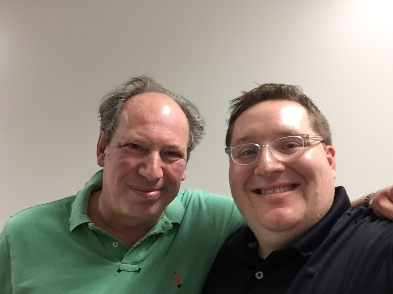With Hans Zimmer, 2017