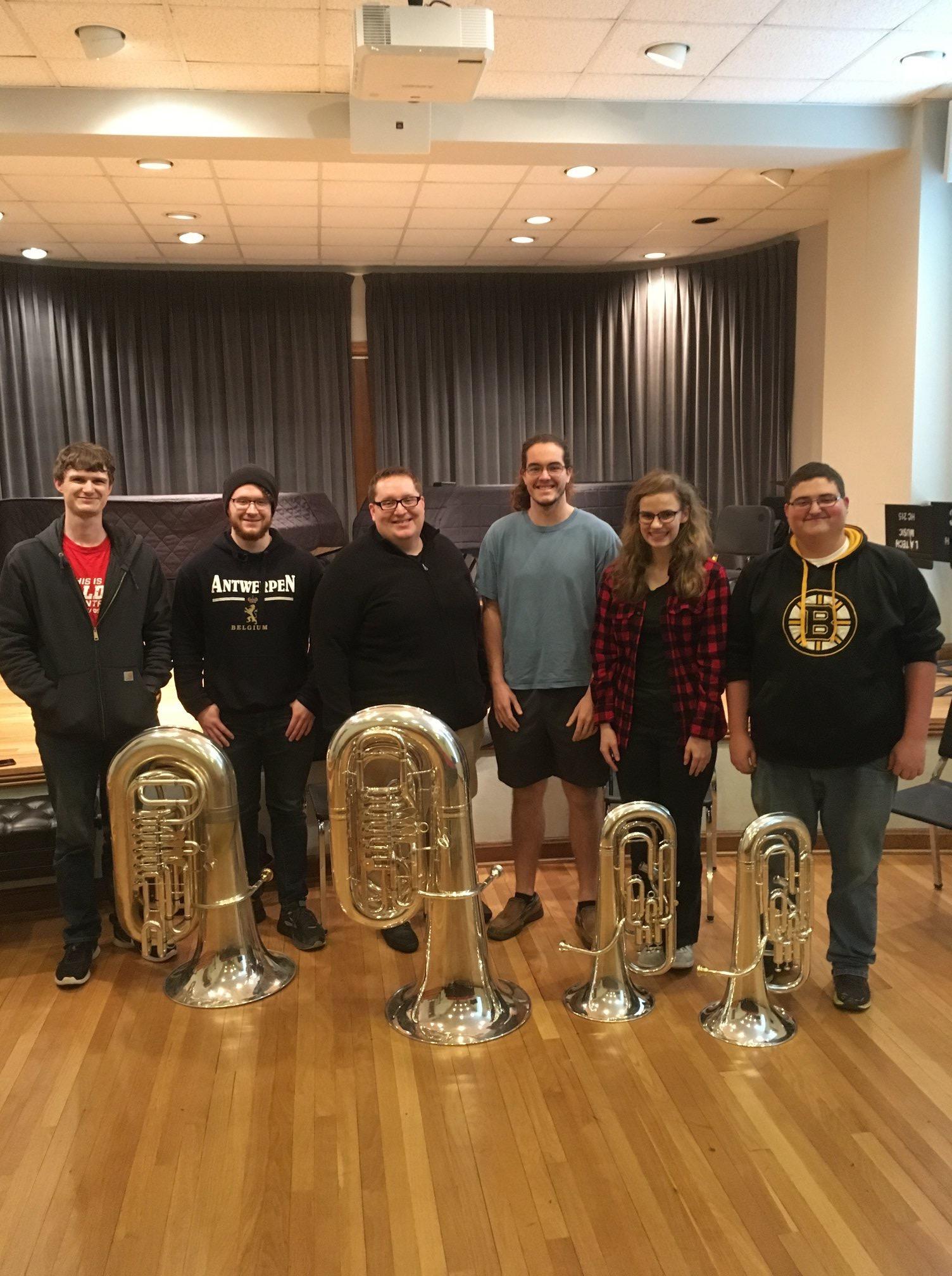 Louisiana Tech Low Brass Master Class, 2018
