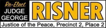 Re-Elect Judge Risner Logo
