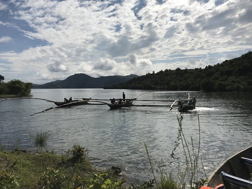 The Singing Fisherman - Out on Lake Kivu between the Democratic Republic of Congo and Rwanda