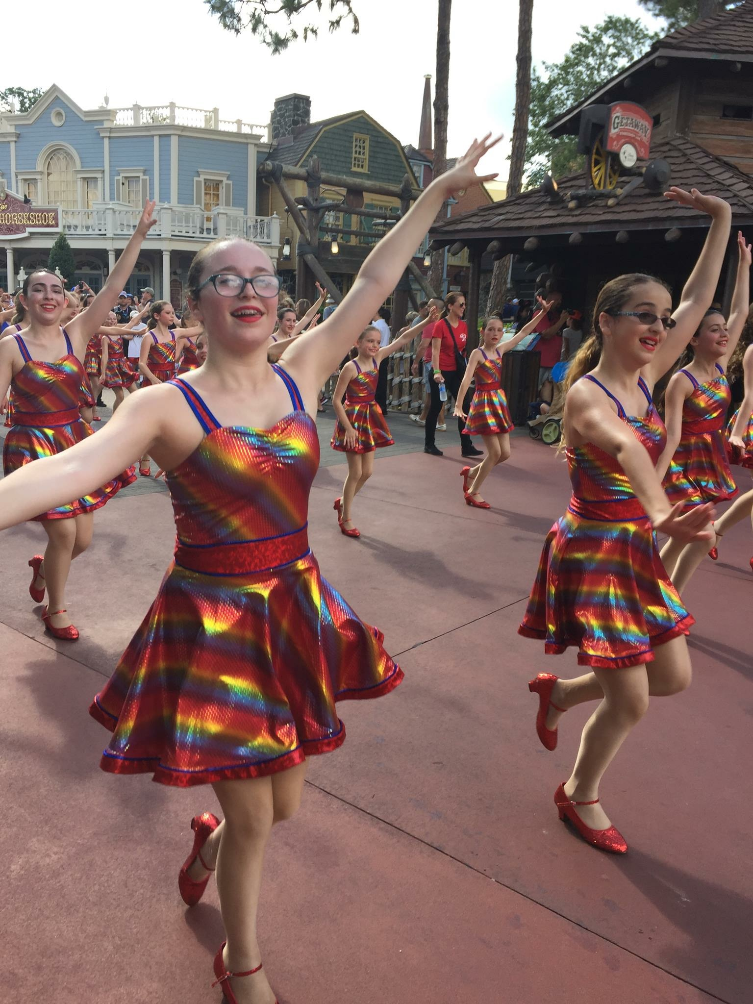 Performances:  -Melrose Victorian Fair & other local events  -Tufts Floating Hospital For Children  -Two to three Competitions (February, March, April, and/or May)  -Dress Rehearsal and Recital (end of May or beginning of June)  -Sporting events (Boston Celtics, Providence Bruins, Boston Red Sox games etc.)  -Optional trips we have taken: New York (Dance The World Broadway & the Rockette Experience), Walt Disney World (Dance the World Disney, Disney Performing Arts Program)