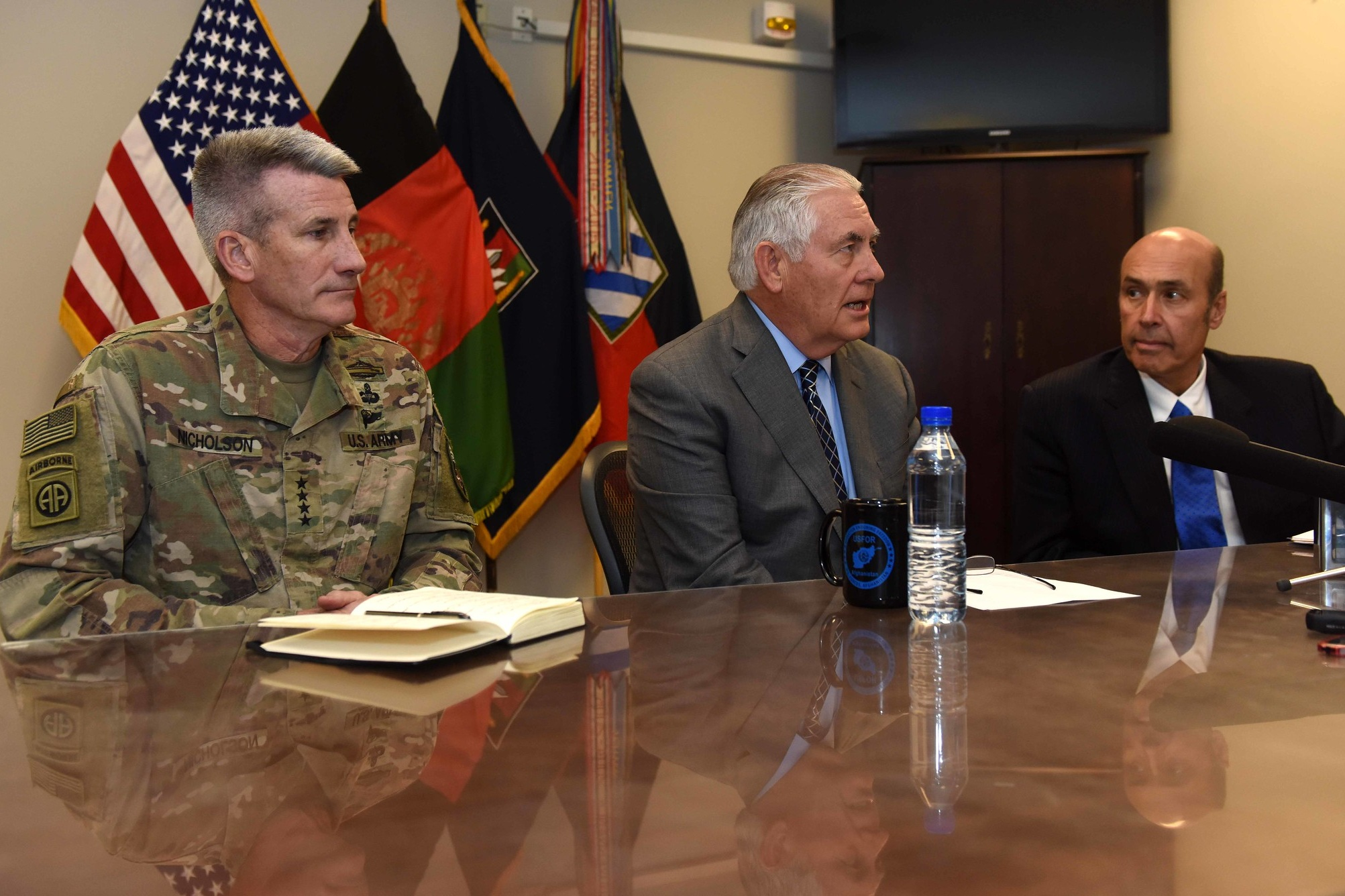 21. Afghanistan: The Transition From The Obama To The Trump Administration. Conversation With General John (Mick) Nicholson & Ambassador Hugo Llorens - General Nicholson and Ambassador Llorens discuss their unity of effort in the field and their partnership in developing the new Afghanistan strategy adopted by the Trump Administration.