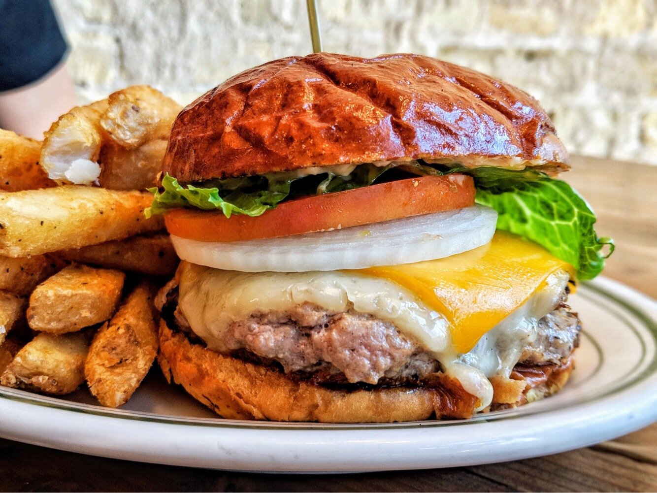 - The Cannibal Burger from Wendigo is a Tenderloin Burger stuffed with Bacon and then topped with Double Cheese, Garlic Aioli, Tomato, Lettuce & Onion.
