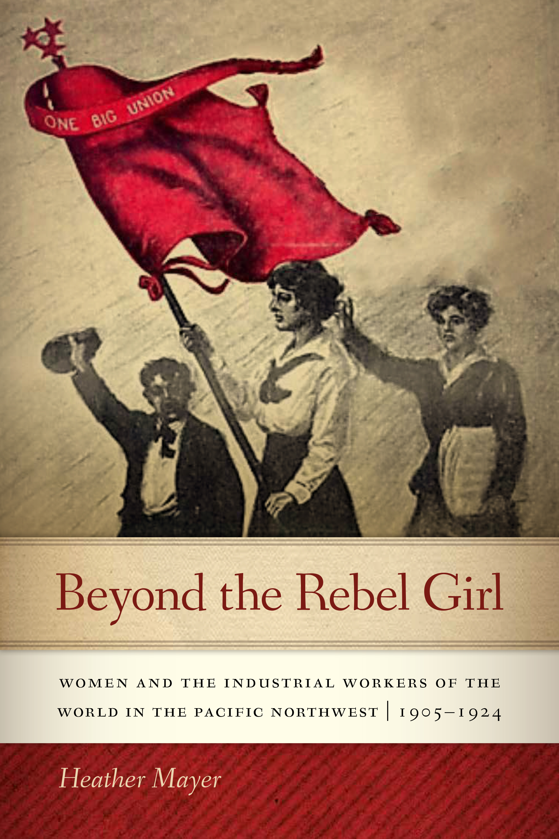 Beyond the Rebel Girl - More than a century after their founding in 1905, the Industrial Workers of the World—or Wobblies as they are commonly known—remain a popular subject for study and discussion among students of labor history and social justice. They are often portrayed as lovable underdogs, with their songs and cartoons, generally irreverent attitude, and stalwart courage in the face of systemic persecution from vigilantes, law enforcement, and government officials.In Beyond the Rebel Girl, historian Heather Mayer questions the well-worn vision of Wobblies as young, single, male, itinerant workers. While such workers formed a large portion of the membership, they weren't the whole picture. In small towns across the Northwest, and in the larger cities of Seattle, Portland, and Spokane, women played an integral role in Wobbly life. Single women, but also families—husband and wife Wobbly teams—played important roles in some of the biggest fights for justice. IWW halls in these Northwest cities often functioned as community centers, with family-friendly events and entertainment.Women were drawn to the IWW for its radical vision, inclusionary policies, birth control advocacy, and emphasis on freedom of choice in marriage. The IWW also offered women an avenue for activism that wasn't focused primarily on the fight for suffrage. Beyond the Rebel Girl deepens our understanding of how the IWW functioned and how the union supported women in their fight for birth control, sexual emancipation, and better labor conditions, all while facing persecution at the local, state, and federal levels.Buy now from Oregon State University Press, Amazon, Broadway Books, or Powell's.