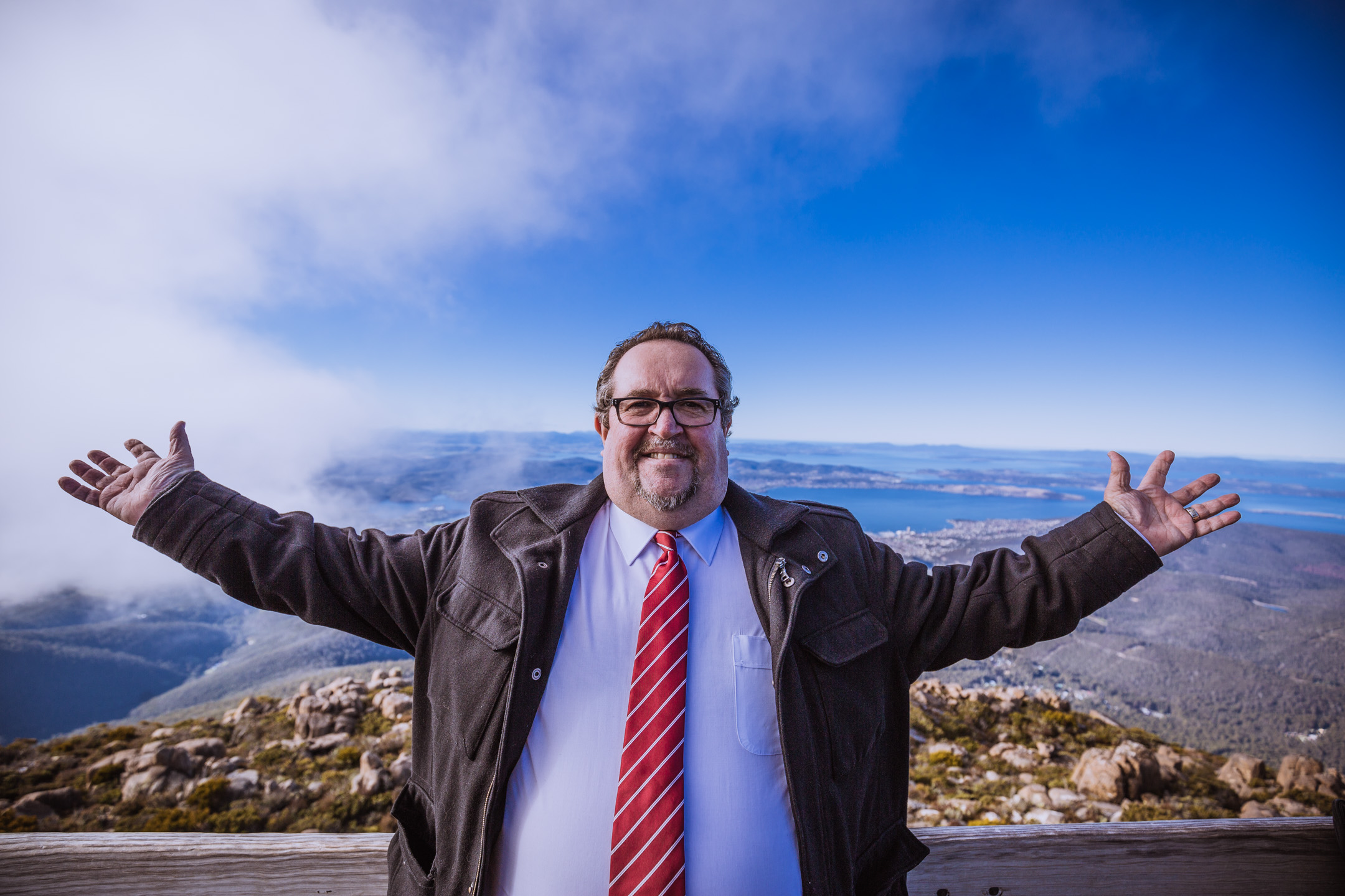 MOVING ON: Former Launceston alderman Darren Alexander has announced he will run as Hobart City Council's Lord Mayor and alderman. Picture: Beetle Black Media