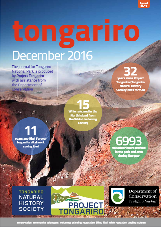 Tongariro Journals  Check out the Tongariro Journals Library - 1999 to 2016 Journals online now.